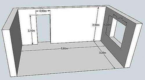 Сколько рулонов обоев нужно на 18 кв м. Пример расчета количества обоев на комнату