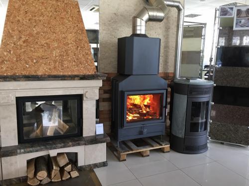 Печь-камин с водяным контуром отопления. Что такое камин с водяным контуром