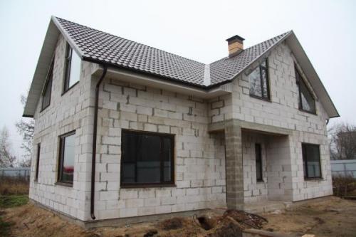 Из какого материала лучше строить дом для постоянного проживания. Бетонные блоки