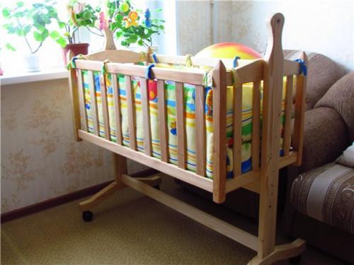 Кровать детская конструкция. Материалы