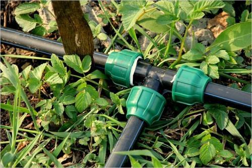 Схема дачного водопровода. Трубы ПНД для дачного водопровода