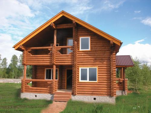 Какой дом строить лучше. Оцилиндрованное бревно