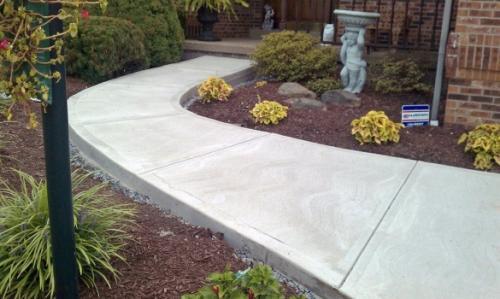 Дорожки бетонные своими руками. Как спланировать садовую дорожку