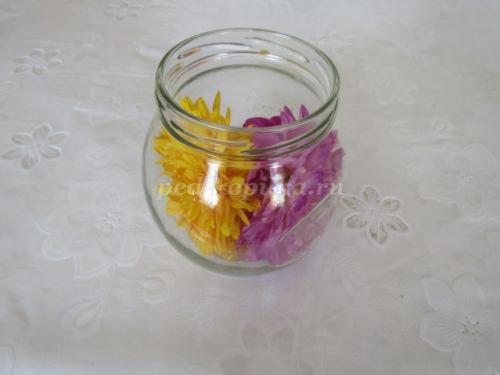 Консервирование цветов в глицерине в бутылке. Консервирование цветов в глицерине. Мастер-класс с фото