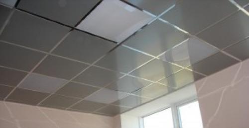 Потолок подвесной кассетный албес. Характеристики изготовляемого материала