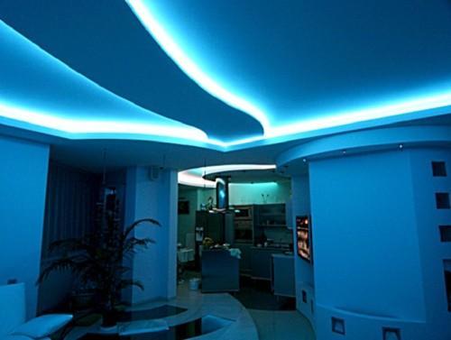 Светодиодное освещение своими руками в квартире. Применение