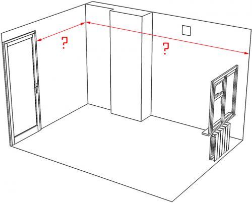 Как измерить сколько нужно обоев на комнату. Как рассчитать количество обоев на комнату по ее периметру