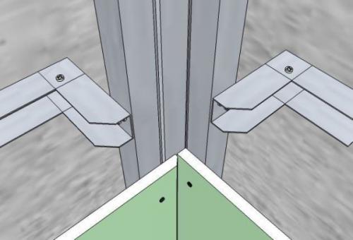 Как монтировать гипсокартон на стену. Этап 4: крепление листов гипсокартона