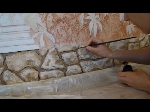 Как сделать декоративный камень своими руками. Как ухаживать за поверхностью