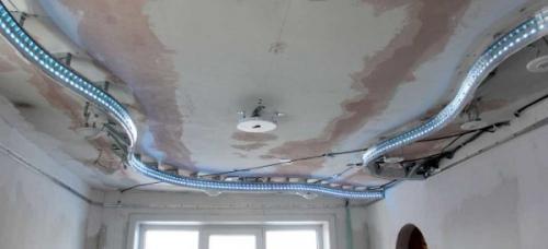 Как установить натяжной потолок своими руками. Шаг четвертый
