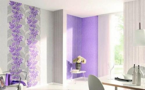 Цвет для обоев для зала. Советы дизайнеров