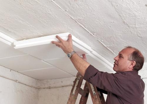 Как дешево и красиво сделать потолок. Какой материал самый дешевый для отделки потолка