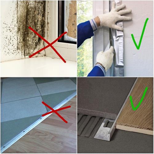 Ошибки при ремонте квартиры. ТОП-5 непростительных ошибок ремонта