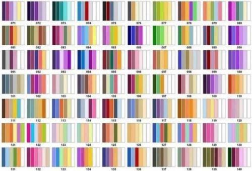 Правильное сочетание цветов в интерьере таблица. Таблицы сочетания цветов в интерьере