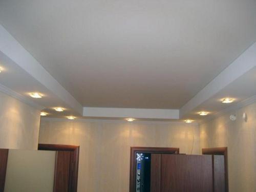 Подвесной потолок из гипсокартона. Как сделать потолок из гипсокартона своими руками