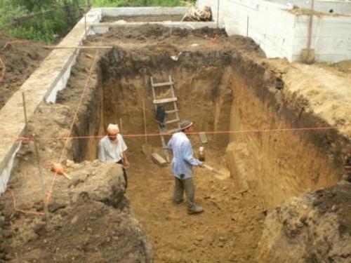 В готовом гараже сделать подвал в. Строительство гаража и погреба «с нуля»