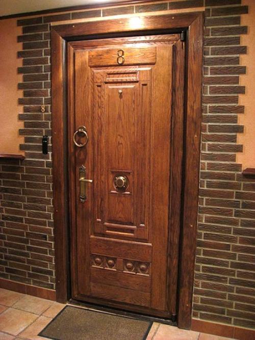 Дизайн входных дверей в частный дом. Из чего делают входные двери?