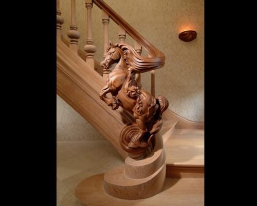 Отделка ступеней бетонной лестницы в доме. Дизайн лестничной конструкции