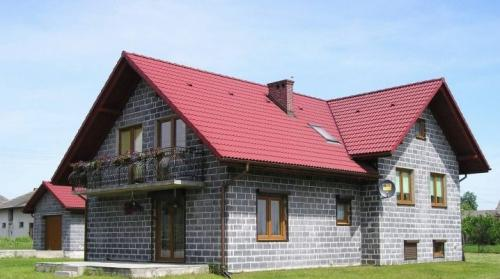 Дом из керамзитобетонных блоков. Дома из керамзитобетонных блоков