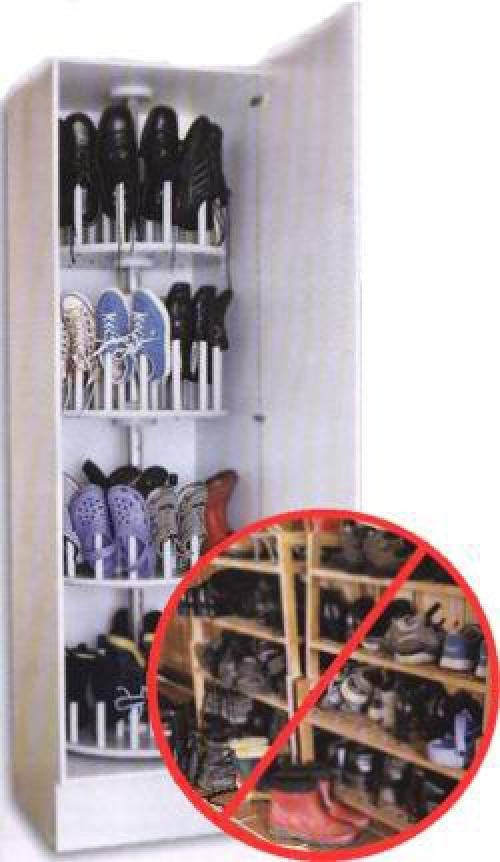 Своими руками шкаф для обуви