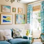 Красочные интерьеры от Katie Rosenfeld.