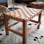 Как сделать плетеный стул.