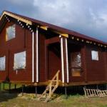 Комфортный и уютный дом из профилированного бруса 145*145 мм.
