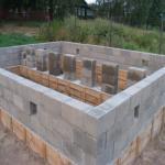 Ленточный монолитный фундамент для дома из газосиликата?