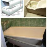 Восстановление эмали и ремонт сколов ванны или раковины.