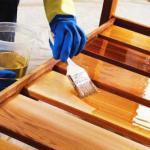 Защитно - декоративные покрытия древесины: