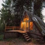 Уютный домик в лесу.