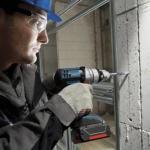 Как правильно сверлить бетон.