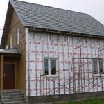 Утепление деревянного дома снаружи.