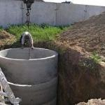 Сливная яма в частном доме.