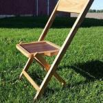 Складной стул со спинкой своими руками (фото чертеж).