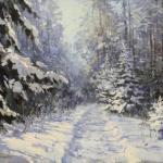 Бесплатная выставка живописи Олеси Мезенцевой.