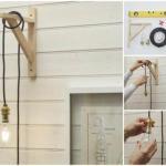 DIY. Очень простой, но красивый и оригинальный светильник легко можно сделать своими руками.