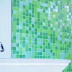 Мозаика в ванной своими руками.
