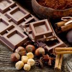 Шоколадный цвет в интерьере.