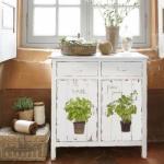 Красивые идеи декупажа мебели.