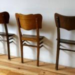 Вторая жизнь старых стульев.