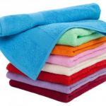 Полезные советы - как сделать махровые полотенца снова мягкими.