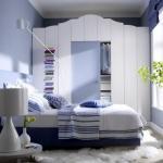 Интерьер маленькой спальни: мы увеличиваем пространство.