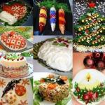 9 рецептов красивых салатов к новому году!