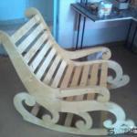 Кресло - качалка своими руками.
