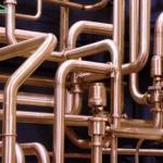 Трубы для водопровода.