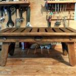 Деревянный столик для ноутбука своими руками.
