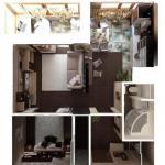 Дизайн небольшой современной квартиры.