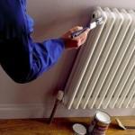 Как покрасить радиаторы отопления.