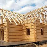 Усадка деревянного дома.
